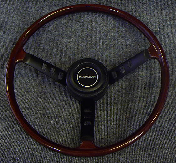 Best Brake Rotors >> Datsun 240Z Steering Wheel Restoration Guide - ZCarGuide