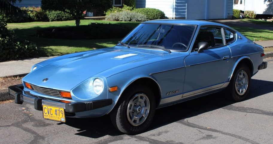 Datsun 280Z Stock Paint and Interior Colors (US and Canada ...