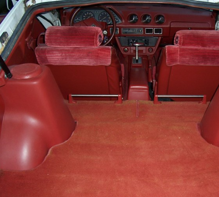 A good fitting carpet kit will drastically improve the appearance of your 280ZX's interior.