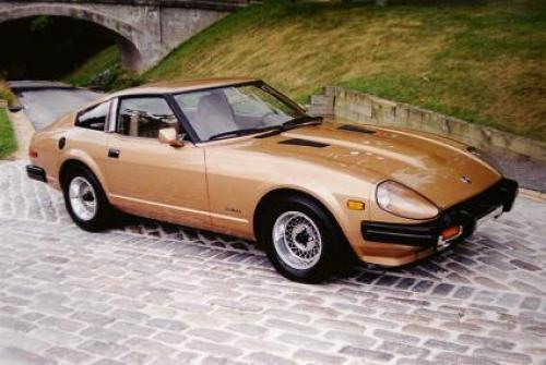 Datsun/Nissan 280ZX Stock Paint and Interior Colors (US ...
